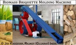 7-biomass briquette molding machine