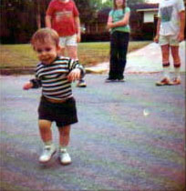 Young Jay dancing in the streets