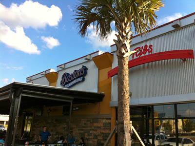 Boston's The Gourmet Pizza - River City Marketplace, Jacksonville, Fla.