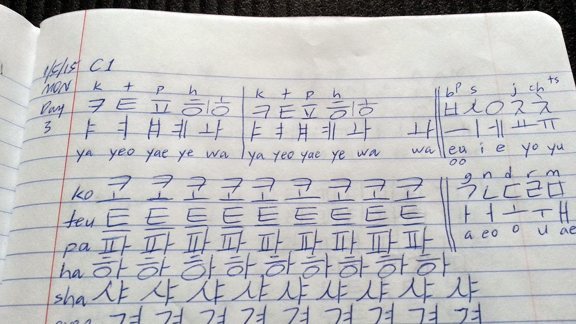 Cracking Into The Korean Language