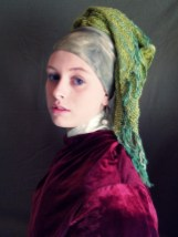 Inspired by Vermeer's Girl with the Pearl Earring