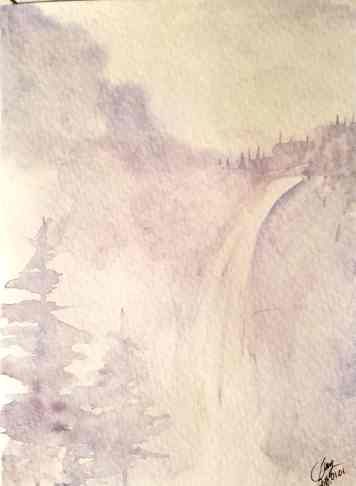 Watercolor Monochrome