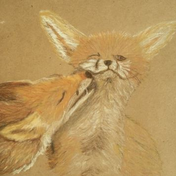 Smooch! Done in Pastels