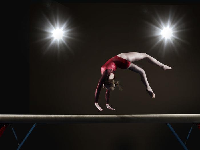 Gymnastics Photoshoot