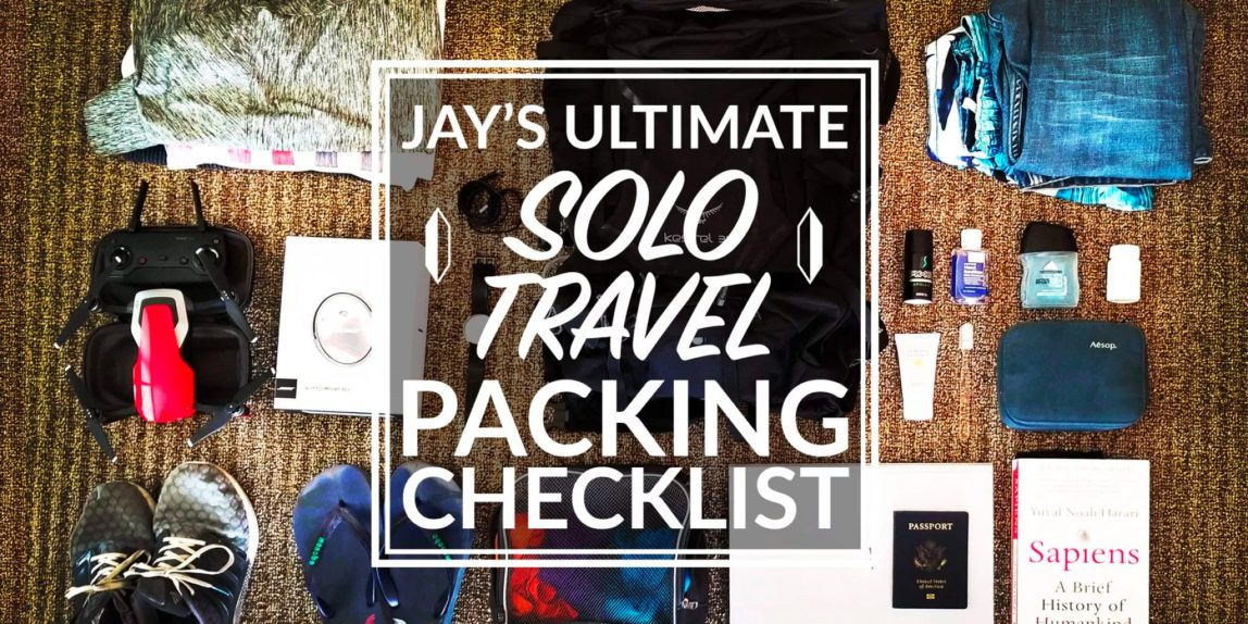 solo travel packing checklist