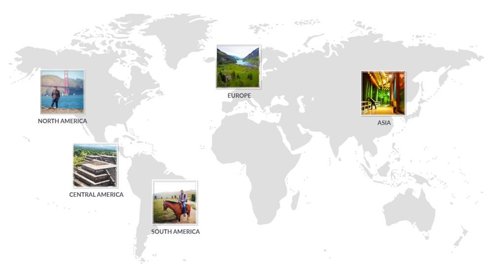 Jay Mulakala World Map