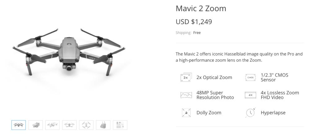 DJI Mavic Zoom