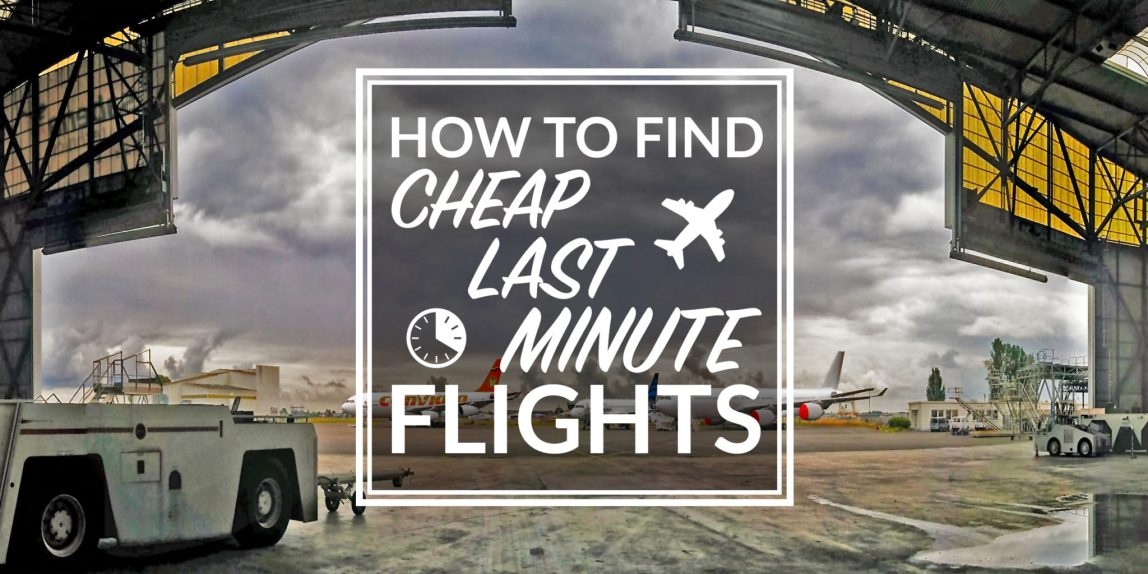 cheap last minute flights