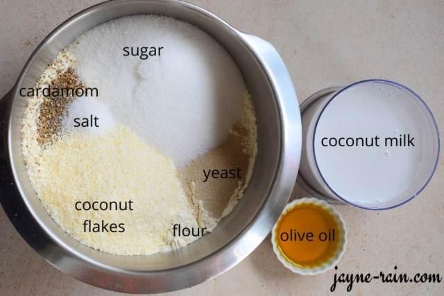mandazi ingredients