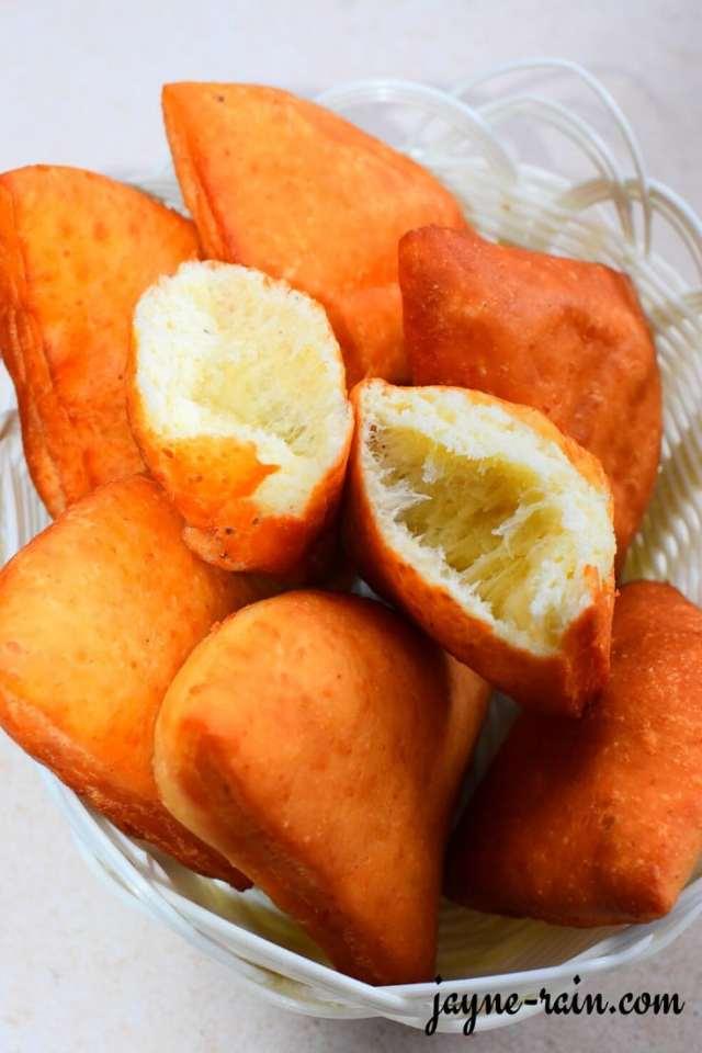 Mandazi Recipe East African Doughnuts Mahamri Jayne Rain