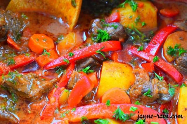 east African beef stew