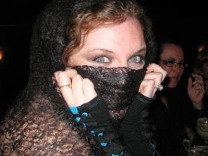 Lila at Vampire Ball