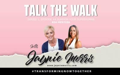 TalkTheWalk Podcast Ria Mestiza With Jaynie Morris