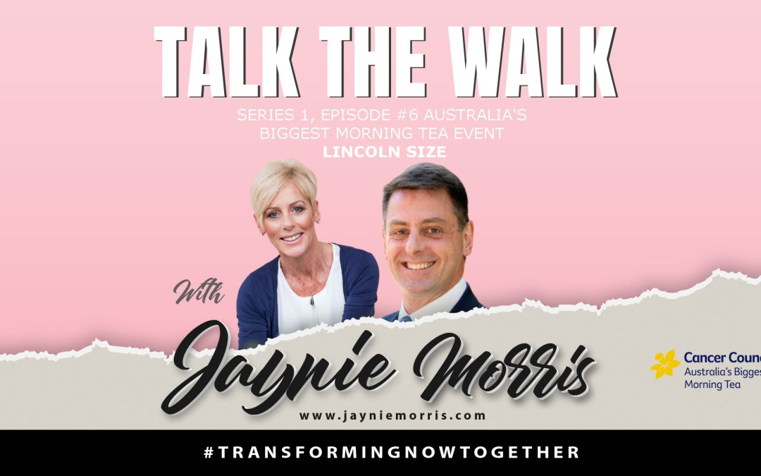 TalkTheWalk Podcast Lincoln Size With Jaynie Morris