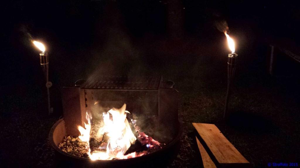 Campfire Arundel Maine