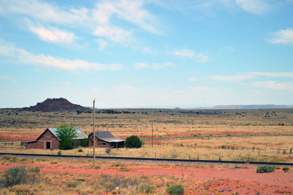 Farmhouse on Route 66 New Mexico