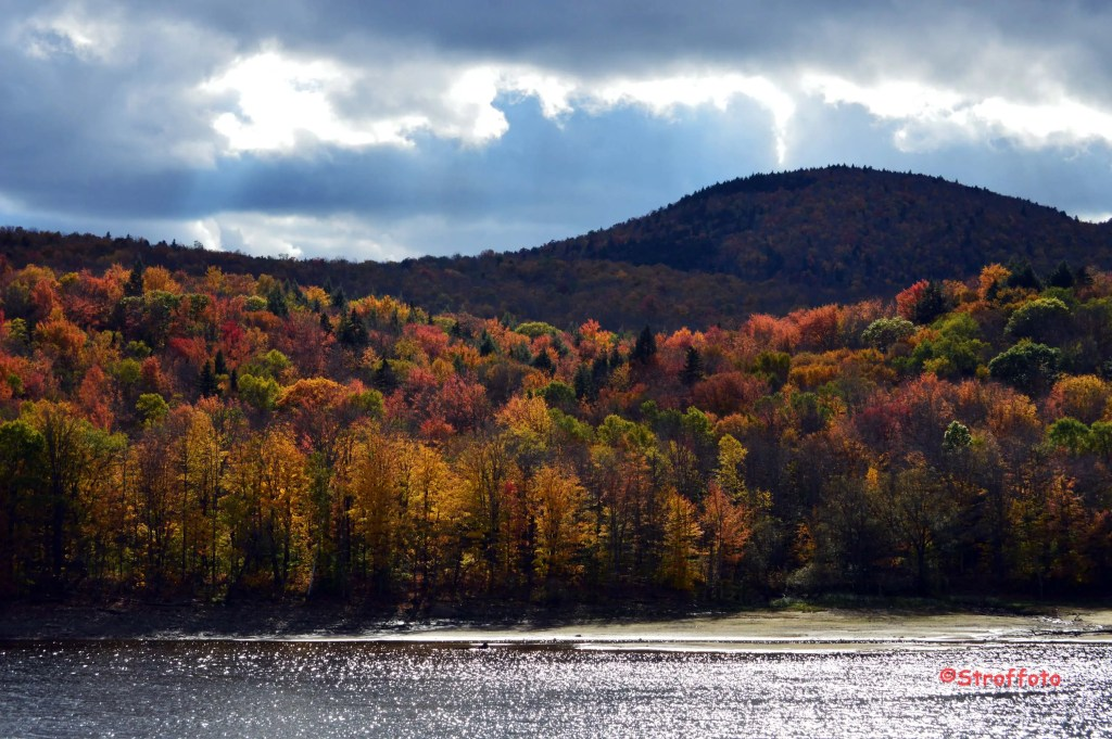 Fall on Harriman Reservoir Wilmington Vermont