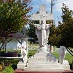 Statue Near Elvis' Grave