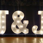 Our Awesome J&J Sign