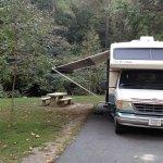 All setup at Hot Springs National Park