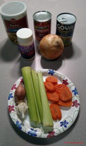 Veggie Bake Ingredients