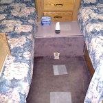 RV Bedroom Ready For Winter