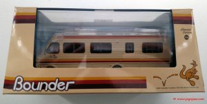 Die-cast Fleetwood Bounder RV