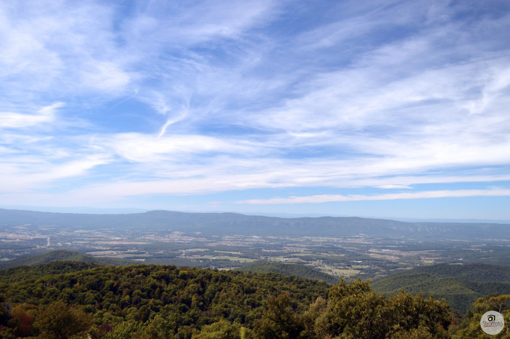 View from Skyline Drive in Shenandoah Valley