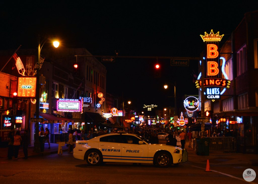 Beal Street at Night