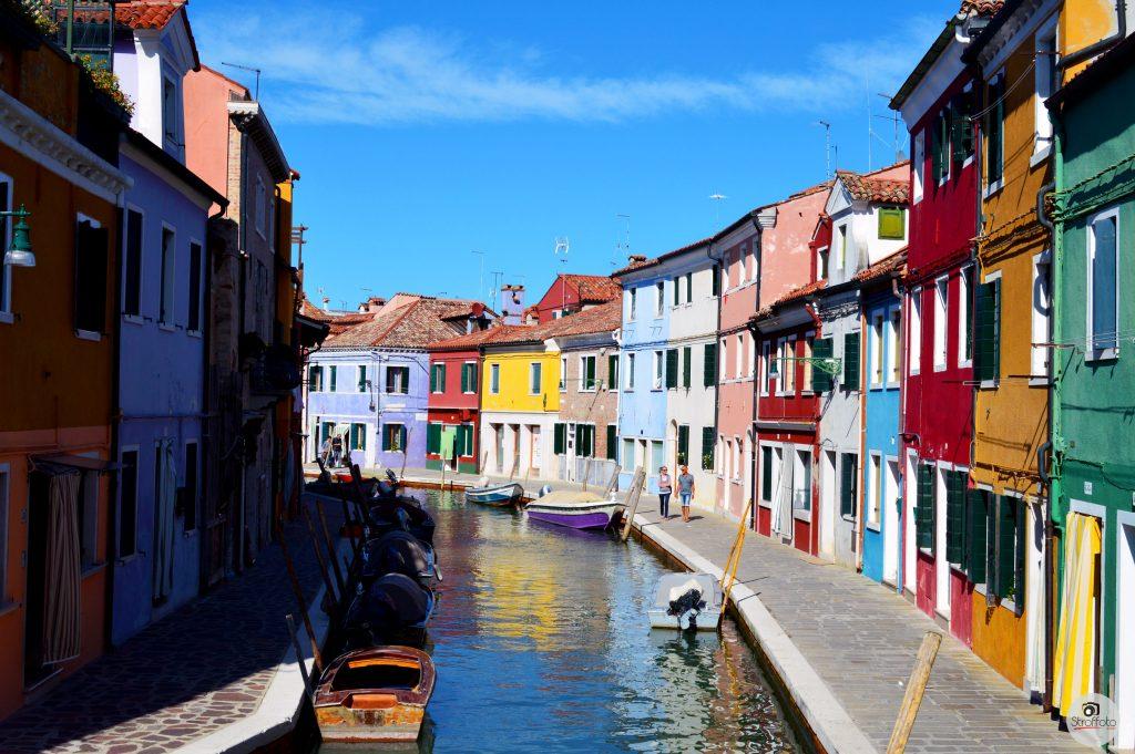 Island of Burano, Venice Italy