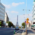 Eiffel Tower (near hotel)