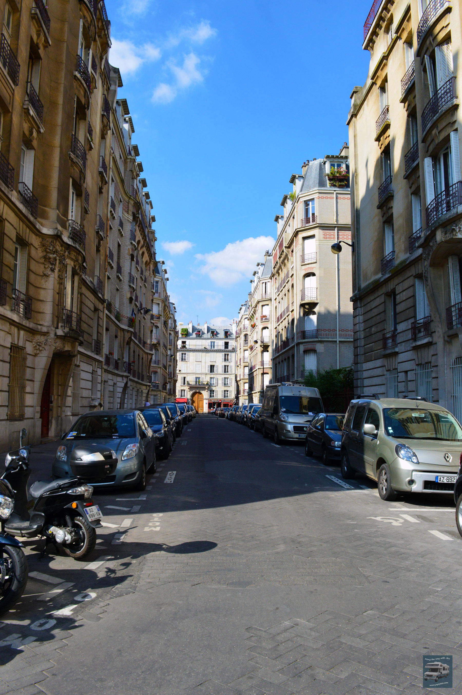 Paris Side Street