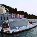 Bateaux Mouche Riverboat Sign