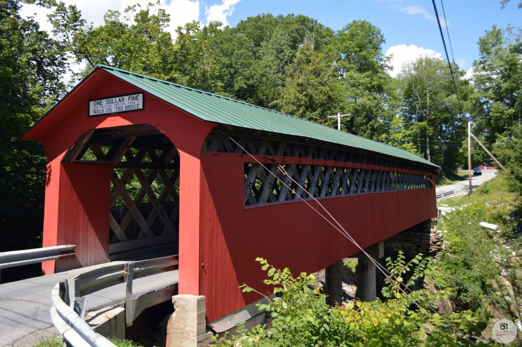 Chiselville Covered Bridge Sunderland Vermont