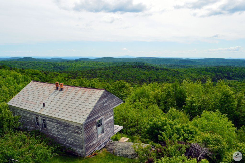 Cabin on Old Hogback Mountain in Vermont