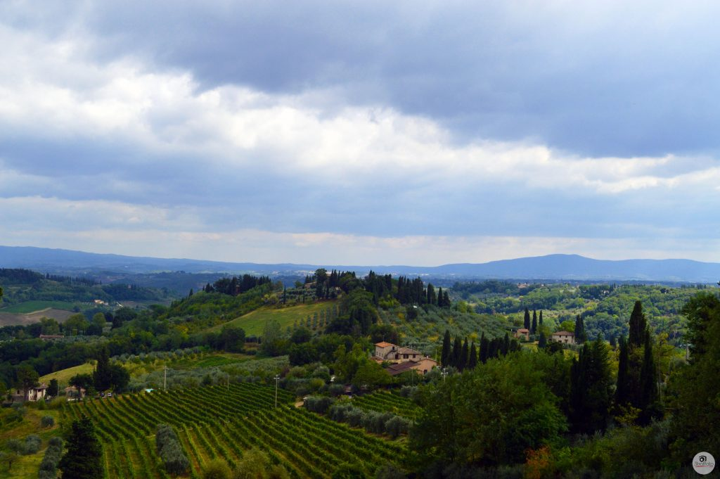 Italian Countryside San Gimignano