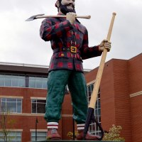 Paul Bunyan in Bangor Maine