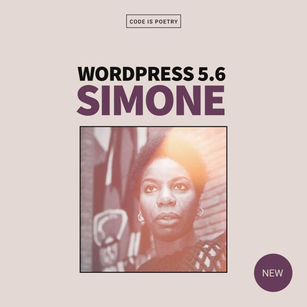 WordPress 5.6 Simone