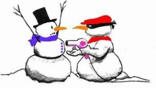 rob a snowman