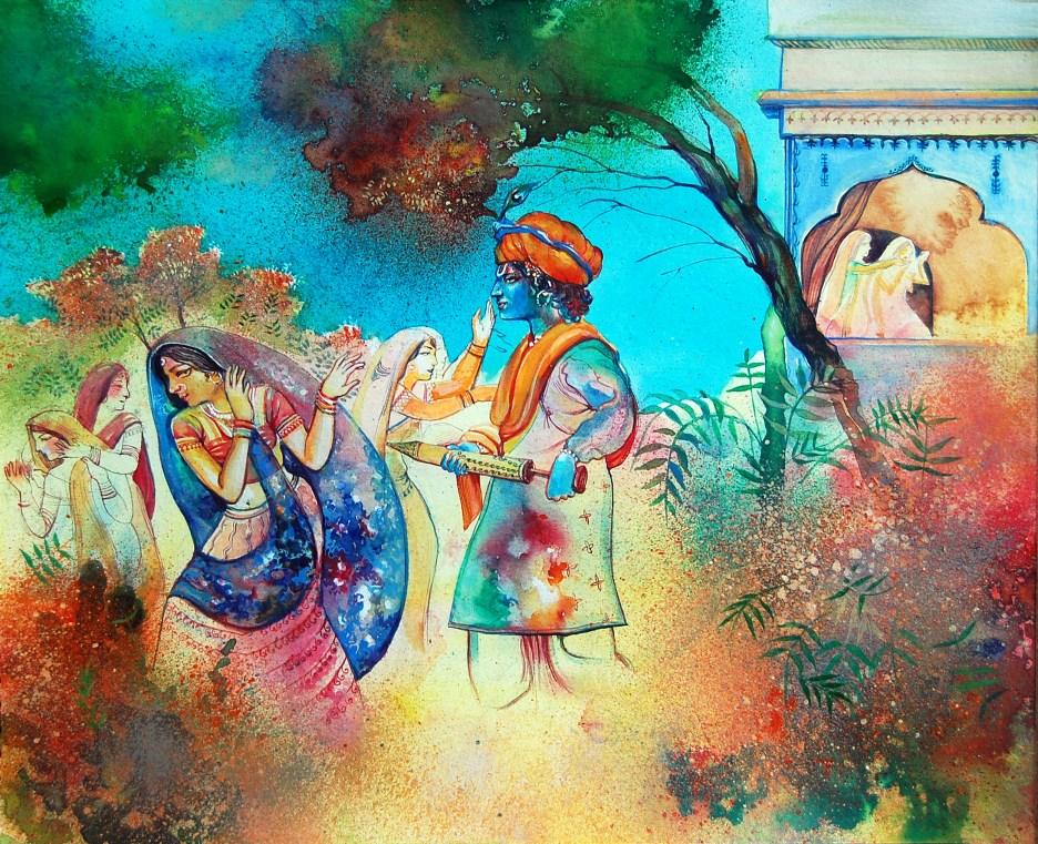 Krishna-Radha Holi