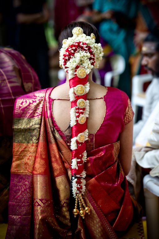 Wedding Gift For Groom From Bride In India : Tamil bride hair Indian Wedding Site