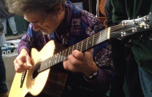 Kinloch Nelson playing a Jay Rosenblatt Guitar