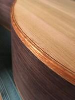 Lacewood binding
