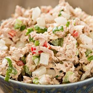 Albacore Tuna Salad w/ Artichokes, Asparagus, and Roasted Potatoes (for 2)