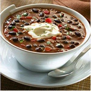 Vegetarian Black Bean Feijoada, Lime-Cilantro Rice, Sour Cream (for 2)