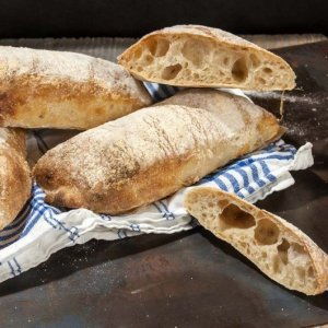 Fresh Ciabatta Bread from Sweets and Sourdough Bakery (4-pack)
