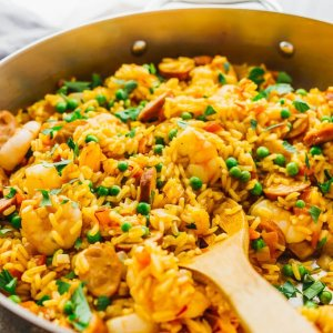 West African Jollof Chicken and Rice (for 1)