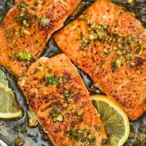 Cajun Honey Butter Salmon, Golden Rice Pilaf, Roasted Vegetable Garnish (for 1)
