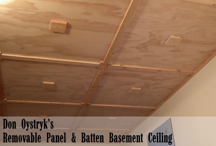 don oystryk removable panel batten