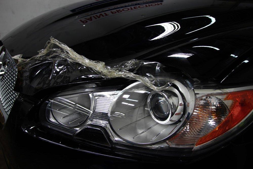 Jaguar XF PPF removal 3